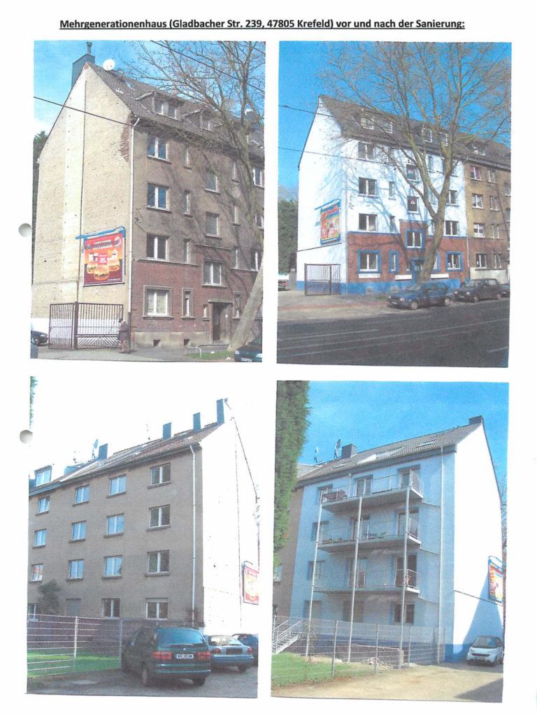 Das Mehrgenerationenhaus - Die Sanierung 2011
